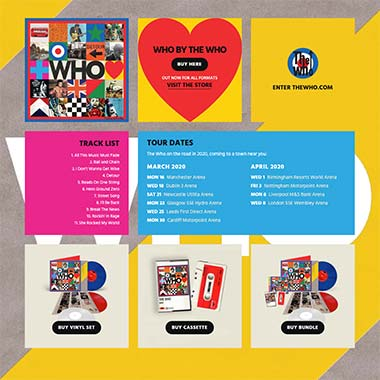 The Who Official Site